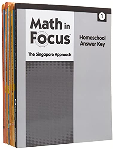Amazon math in focus singapore math homeschool package with math in focus singapore math homeschool package with answer key grade 1 1st edition fandeluxe Images