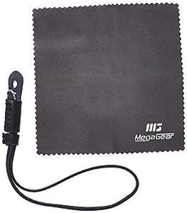 MegaGear Leather Digital SLR Camera, Camcorder Hand Strap for Sony A6000, A6300 , A5100, FujiFilm X30, X100T, X100F, Fujifilm X-Pro2 (Black)