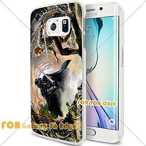 Darth Vader Movie Star Wars 2 Cell Phone S6 Edge Case, For-You-Case Samsung S6 Edge White Silicone Case Cover NEW fashionable Unique Design