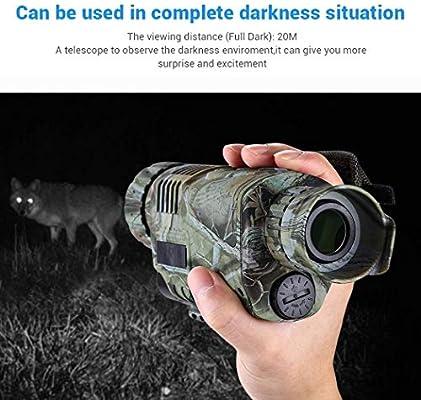 GYTOO 5X40 Digital Infrared Night Vision Goggles Monocular 200m ...