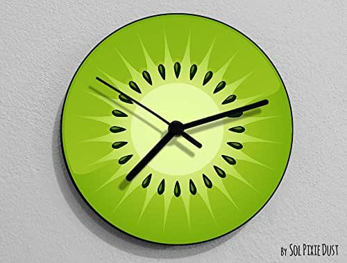 Kiwifruit Fruit Wall Clock