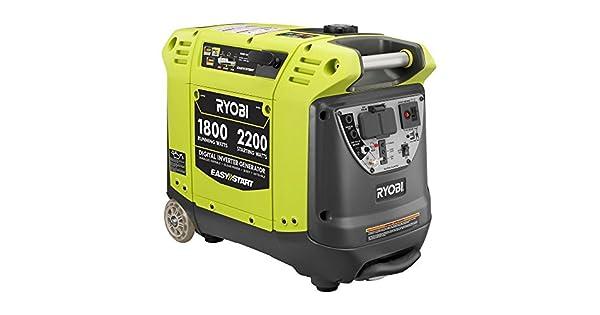 Amazon.com: Generador y convertidor digital Ryobi: Jardín y ...