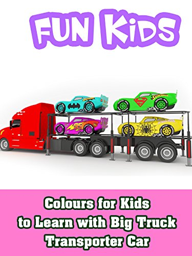 Mighty Trucks - Colours for Kids to Learn with Big Truck Transporter Car