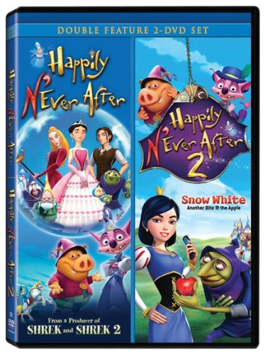 Happily N'Ever After 1 & 2 Double Feature [DVD] (Ever After Movie Dvd)