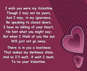 Alfombrilla ratón 1185 LE DESEO eran mis poemas DÍA DE SAN VALENTÍN VALENTIEN romántico regalo divertido calidad Alfombrilla ratón