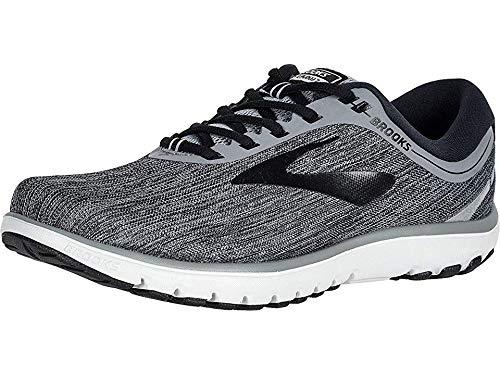 Brooks Men's PureFlow 7 Primer/Black/Oyster 10.5 D US (Mens 7 Running Shoes)
