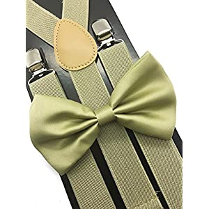 4everStore Unisex Bow Tie & Suspender Sets