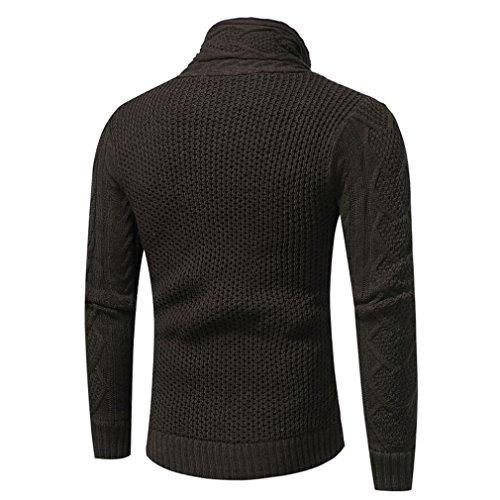 Tops M oscuro con con de Sudadera Gris ZARU capucha capucha manga Coat larga los Chaqueta Outwear hombres de retro BUOfaUx