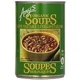 Amy'S Kitchen Organic Lentil Vegetable Soup, 398 ml