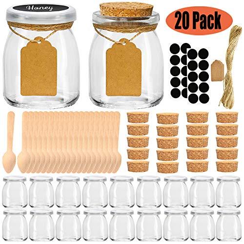 Folinstall Pcs Glass Jars Lids product image