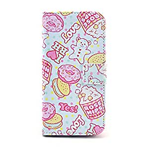 Sweet Bear Card Slot PU Leather Wallet Case Cover for iPhone 6 6G