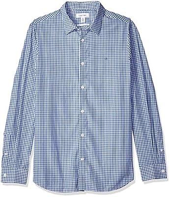 Calvin Klein Men's The Cotton-Cashmere Button Down Shirt,