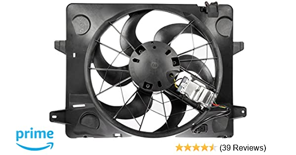 Electric Radiator Cooling Fan Assembly Fits:2003-2005 Lincoln Town Car V8 4.6L