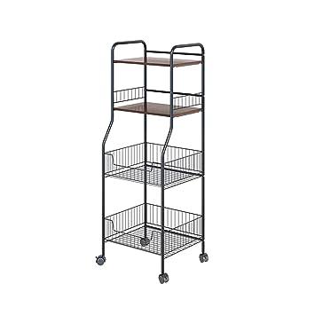 Amazon.com: Zony - Estantería de almacenamiento de cocina ...
