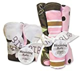 Trend Lab Bibs and Burp Cloths Bouquet Set - Maya
