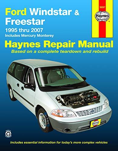Ford Windstar & Freestar 1995-2007 Repair Manual (Haynes Repair Manual) ()