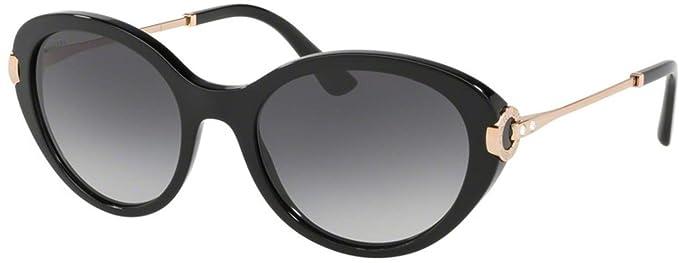 Amazon.com: Gafas de sol Bvlgari BV 8216 BF 501/8G NEGRO ...