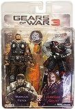 """Gears of War 3 - 7"""" Action Figure - Marcus vs Locust Grunt 2 Pack Exclusive"""