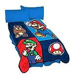 Super Mario Bros Blanket Micro Plush Throw