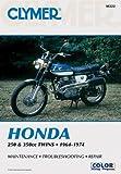 Clymer: Honda 250-350cc Twins, 1964-1974: Service, Repair, Performance