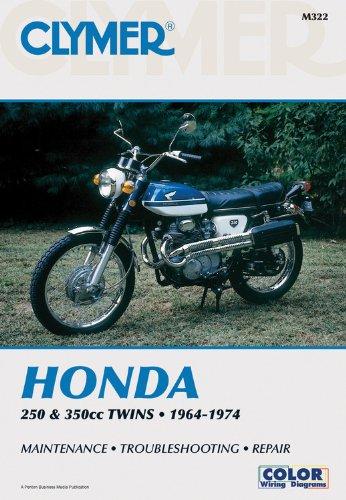 Clymer: Honda 250-350cc Twins, 1964-1974: Service, Repair, Performance (Staff Bookmark)