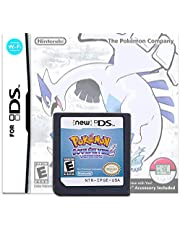 $27 » Pokemon Soul Silver Version Game Card Compatible with Nintendo DS/NDS/NDSL/NDSi/3DS/2DS Version (Reproduction Version)