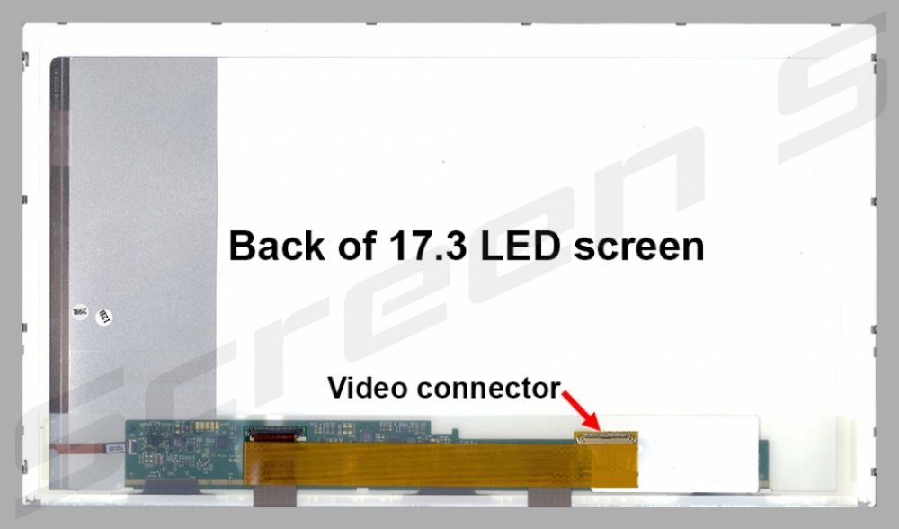HP G71-449WM Replacement Screen for Laptop LED HDplus Matte by HP (Image #1)