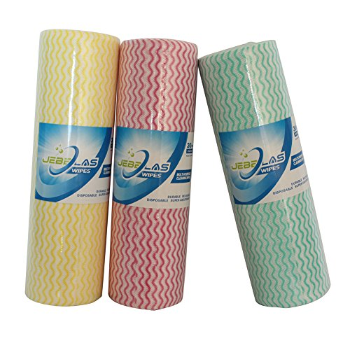 Jebblas Reusable Cleaning Wipe Disposable Cleaning Cloth