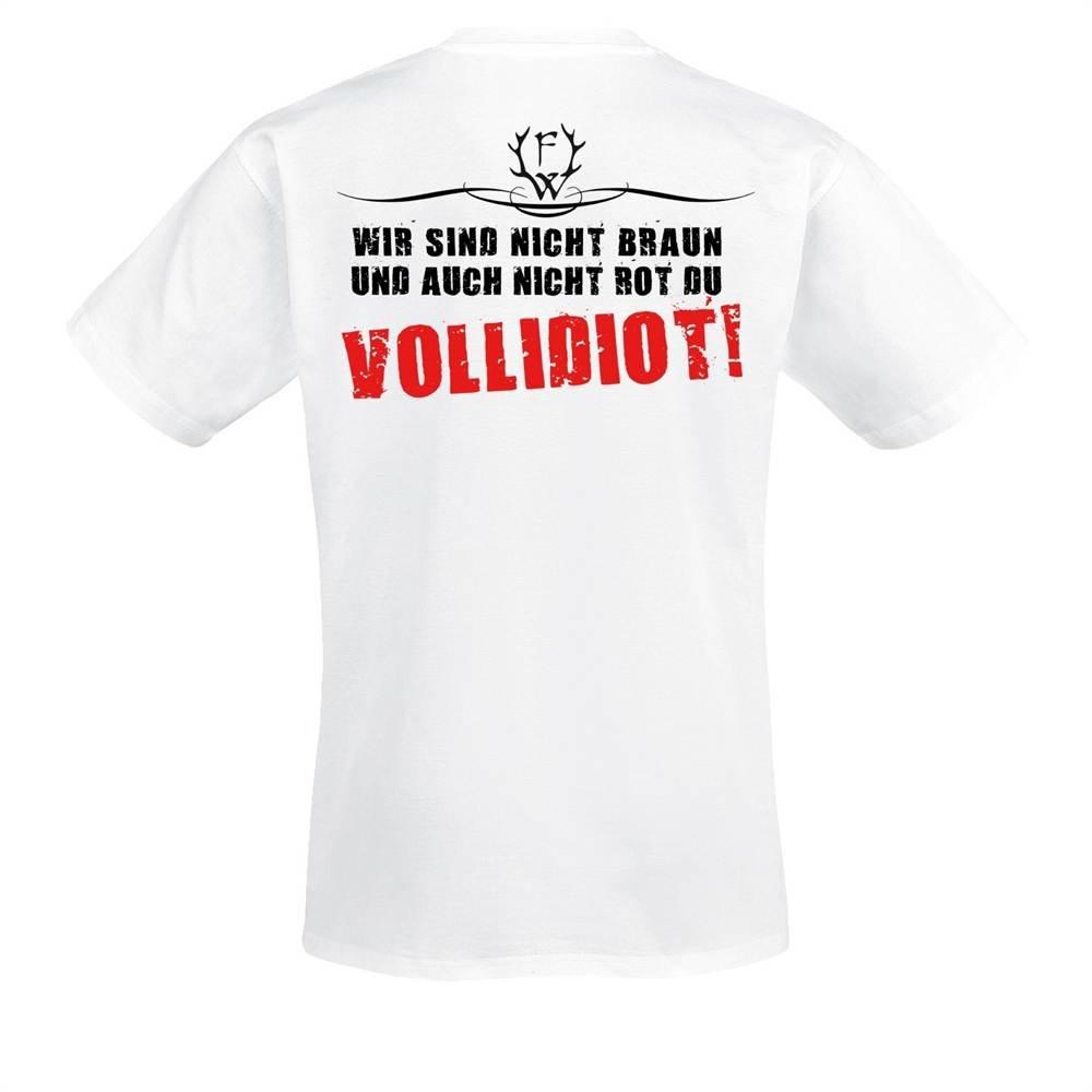 Frei.Wild Farbe Zeigen T-Shirt mit R/ückendruck bis 5 XL verschiedene Farben