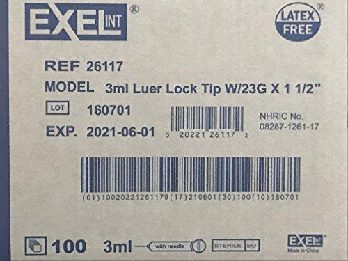 3ml Luer Lock Syringe Needles product image