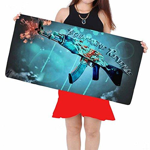 Hot new 2017 new locking edge gaming mouse pad cs go sniper shooting warface gun laptop speed control mousepad NN01