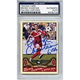 Brandi Chastain Autographed Signed Soccer Trading Card Team USA PSA/DNA #84092728