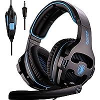 Sades SA810 Over-Ear 3.5mm Wired Gaming Headphones