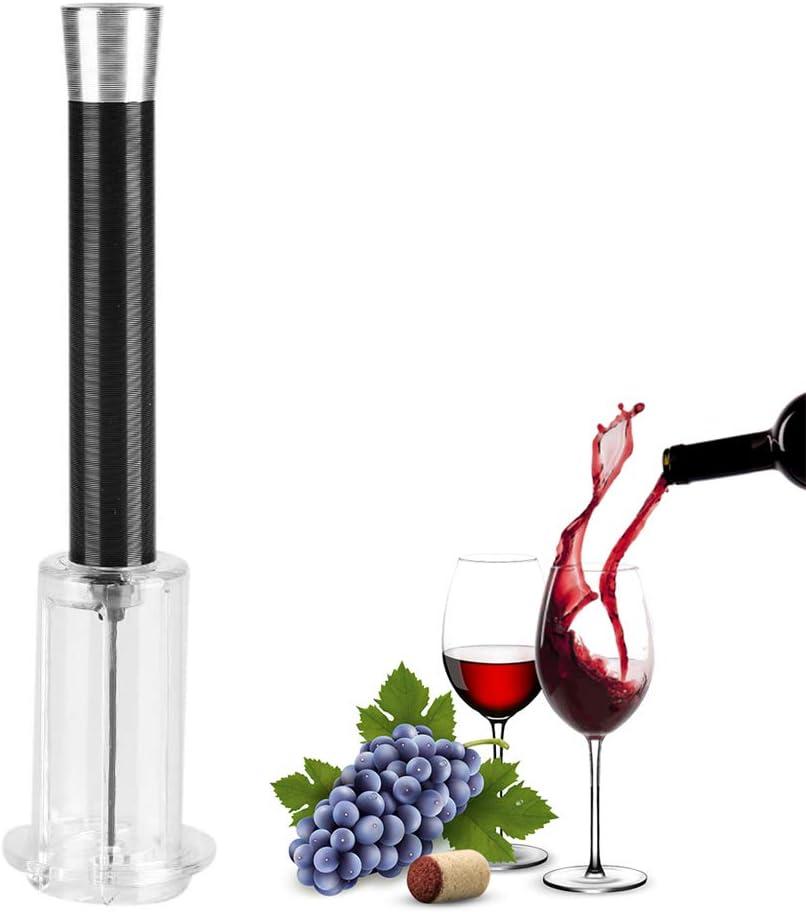 Red Garosa Bottle Opener Cork Wine Air Pressure Pump Bottle Opener Cork Remover Corkscrew Tools Easy Pop Out Corkscrew