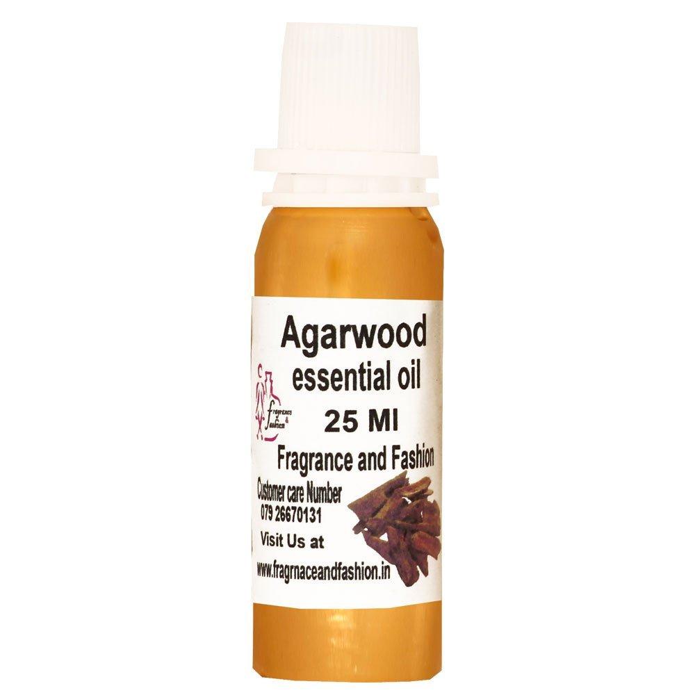 Fragrance and Fashion Agarwood Essential Oil Of 25 Ml