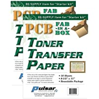 Printers TONER TRANSFER PAPER 10 SHEETS