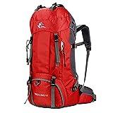 60L Hiking Backpack Outdoor Waterproof Durable High Capacity Backpack Camping Trekking Fishing Travel