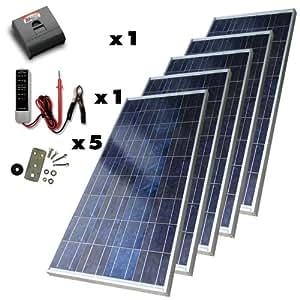 Sunforce 39305 650-Watt High-Efficiency Polycrystalline Solar Power Kit