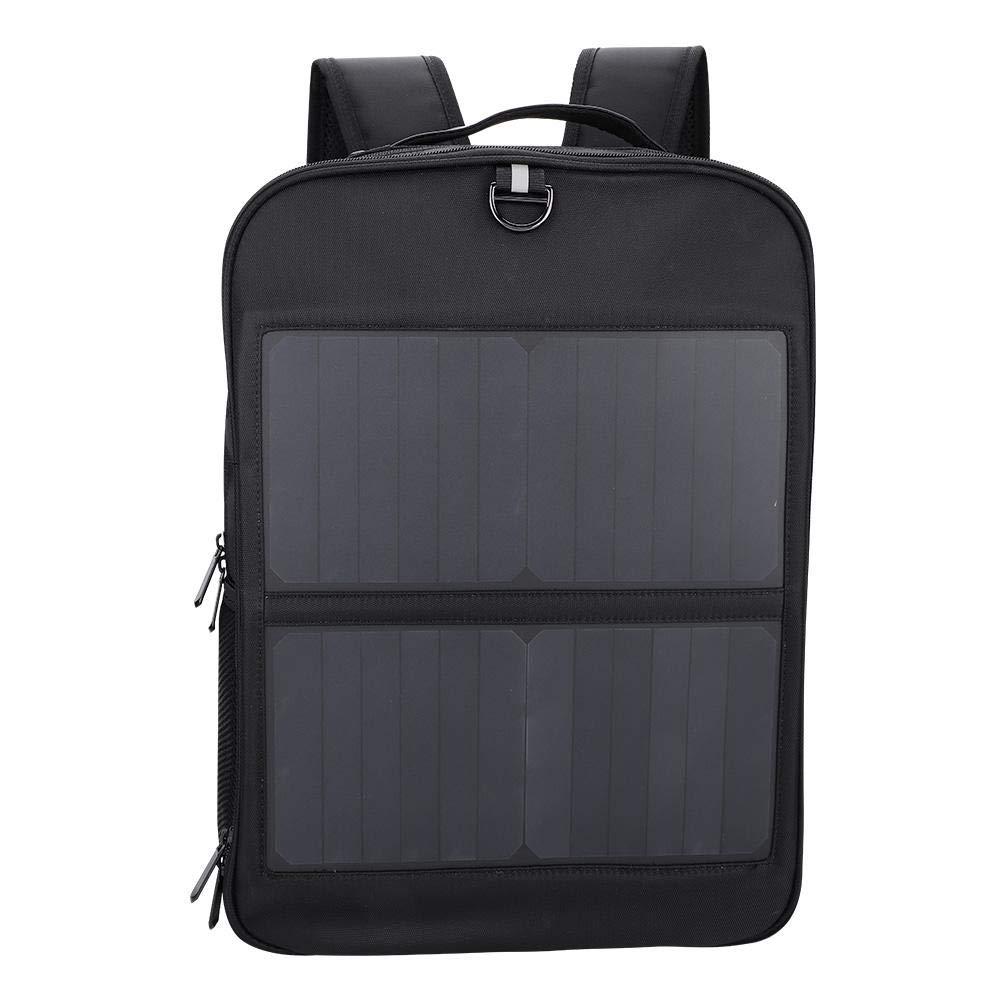 Dioche ソーラーバックパック 14W ノートパソコン タブレット 盗難防止バックパック ソーラーUSB充電ポート ビジネスバッグ 多機能トラベルリュックサック メンズ レディース   B07L8CYVWK
