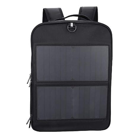 Zerone 14W Laptop Tablet Mochila Solar USB Puerto de Carga Bolsa de Negocios