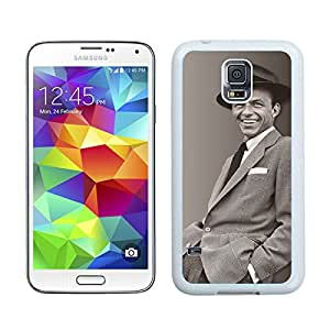 Perfect fit for your beloved phone,100% Brand New Frank Sinatra White For Samsung Galaxy S5 i9600 Case