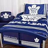 NHL 42706-311-TDST-TORO Toronto Maple Leafs 3 Piece Toddler Bedding Set