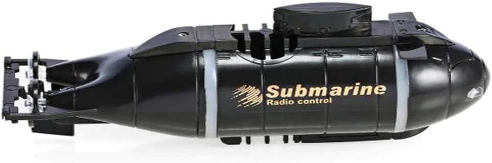ETbotu Imbarcazioni Telecomandati Mini 6CH Telecomando da corsa giocattolo sottomarino per bambini blu