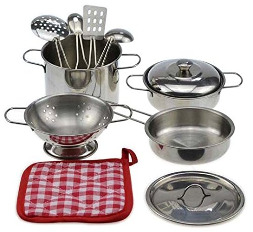 Toy Pots And Pans : My first play kitchen toys pretend cooking toy cookware