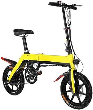 Bicicleta Bicicleta Eléctrica Plegable 14 pulgadas bicicleta ...