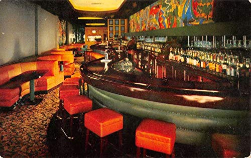 Lansing Michigan Fielder Room Hotel Olds Vintage Postcard ()