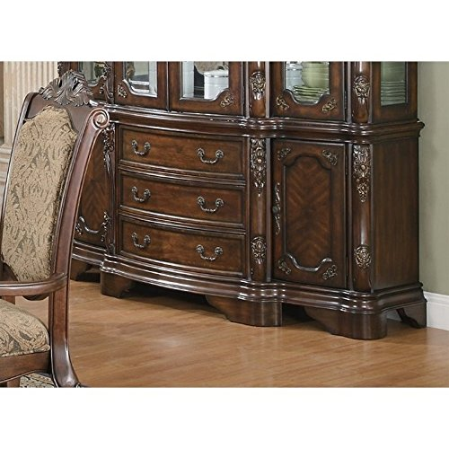 Coaster Andrea Traditional Dining Buffet in Brown ()