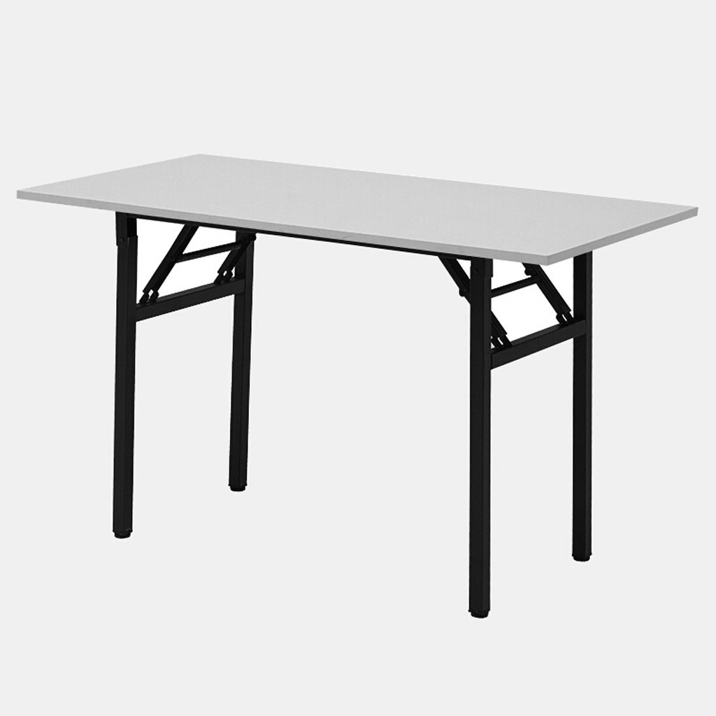 TangMengYun 現代的なシンプルな多機能コンピュータデスク折りたたみテーブルデスクスタディデスクミーティングテーブル (Color : Black, サイズ : 120*60*74CM) B07DML4PRG 120*60*74CM|Black Black 120*60*74CM