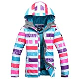 Winter Outdoor Children's Skiing Jacket Snowboard Coat Kids Sports Mountaineering Clothing Waterproof Girls Ski Jacket