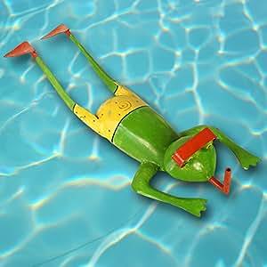Exner Inmersión de rana tumbada, con Bañador amarilla, L aprox. 52cm